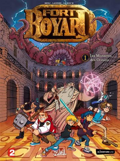 Couverture Fort Boyard tome 1 - Les monstres des océans