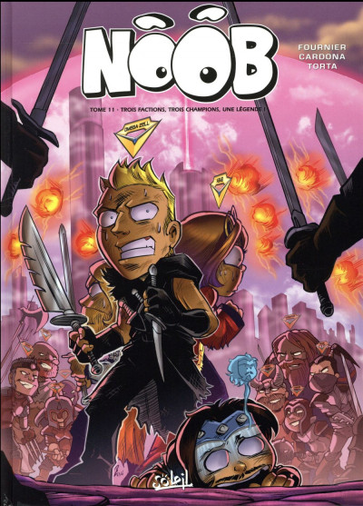Couverture Noob tome 11