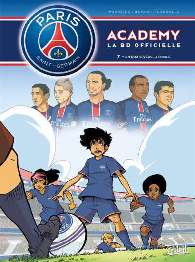 Couverture PSG academy tome 7