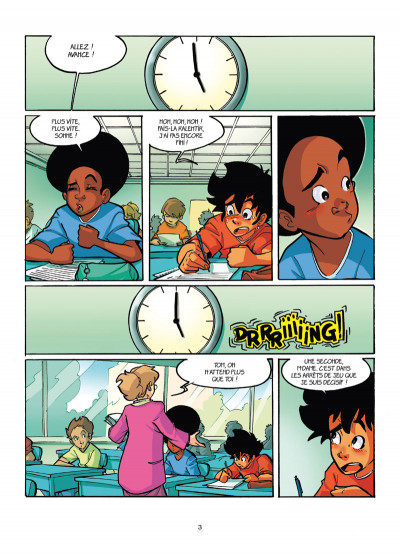 Page 1 PSG academy tome 7