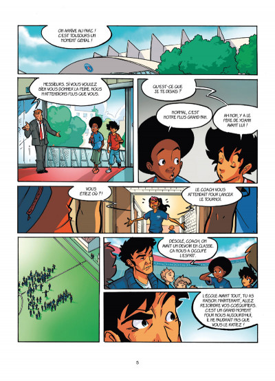Page 3 PSG academy tome 7