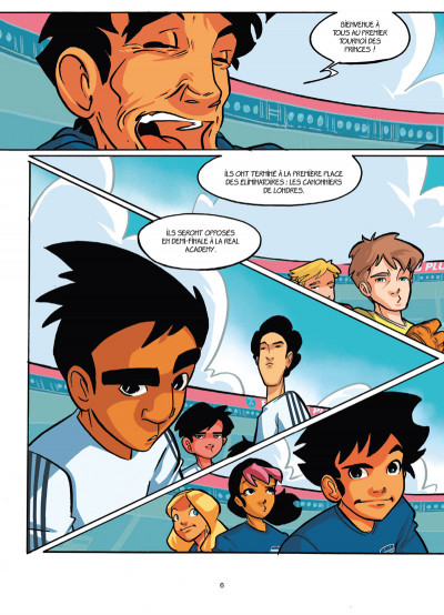 Page 4 PSG academy tome 7