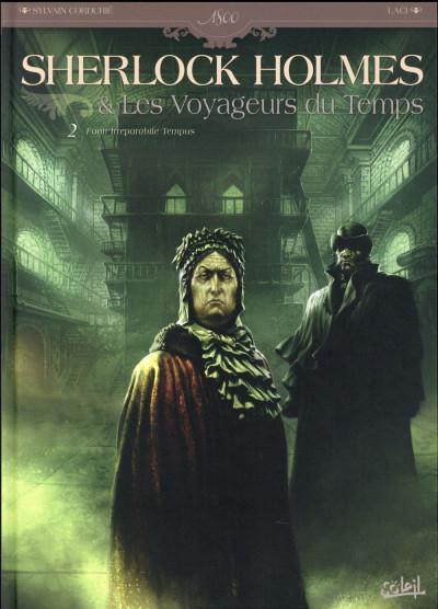 Couverture Sherlock Holmes et les voyageurs du temps tome 2
