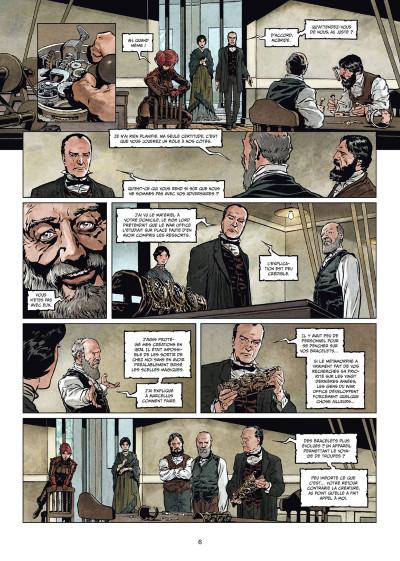 Page 4 Sherlock Holmes et les voyageurs du temps tome 2