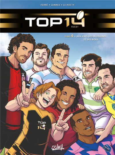 Couverture Top 14 tome 4