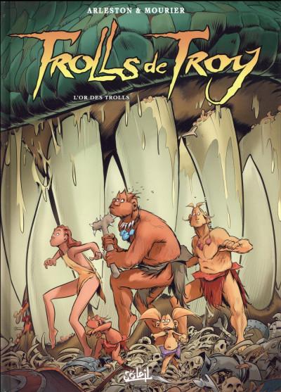 Couverture Trolls de Troy tome 21