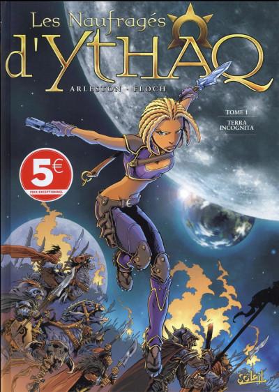 Couverture Les naufragés d'Ythaq tome 1 (soleil petits prix 2016)