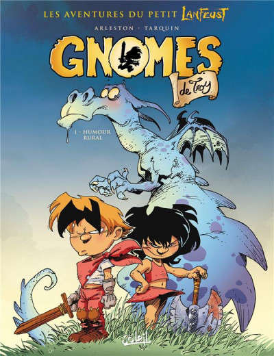 Couverture Gnomes de Troy tome 1 (soleil petits prix 2016)