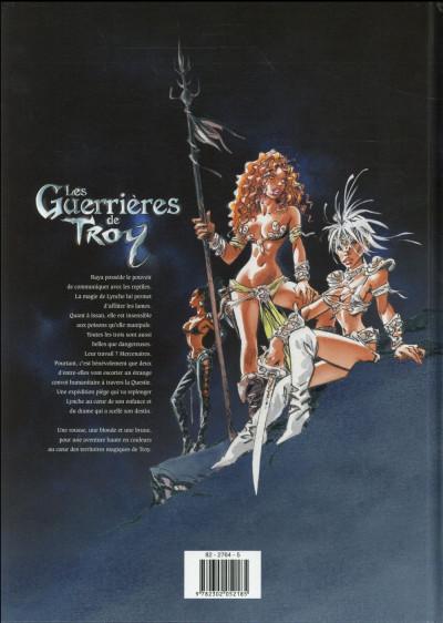 Dos Les guerrières de Troy tome 1 (soleil petits prix 2016)