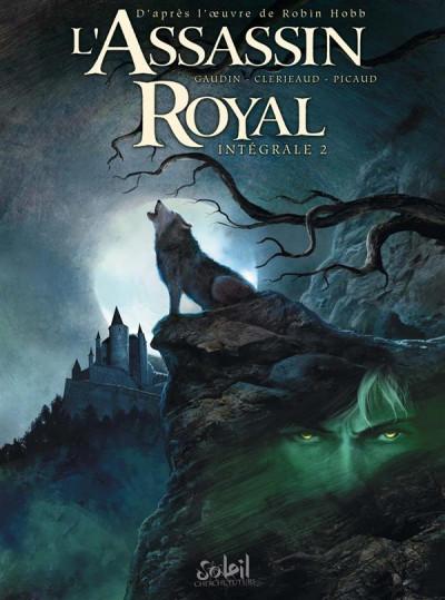 Couverture L'assassin royal - intégrale tome 2