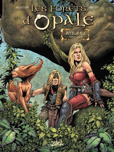 Couverture Les forêts d'opale - intégrale tome 4 à tome 6