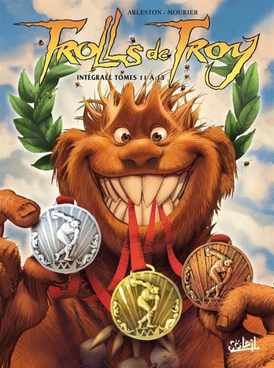 Couverture Trolls de Troy - intégrale tomes 11 à 13