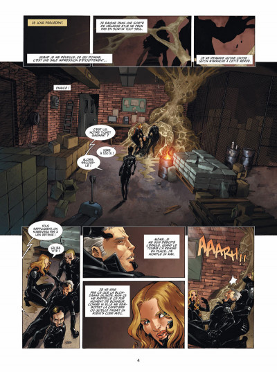 Page 2 Androïdes tome 3