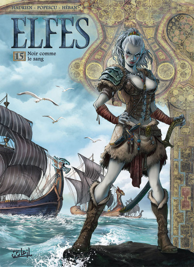 Couverture Elfes tome 15