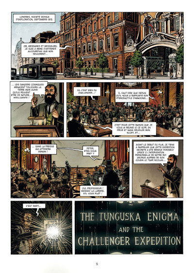Page 3 La grande guerre des mondes tome 1