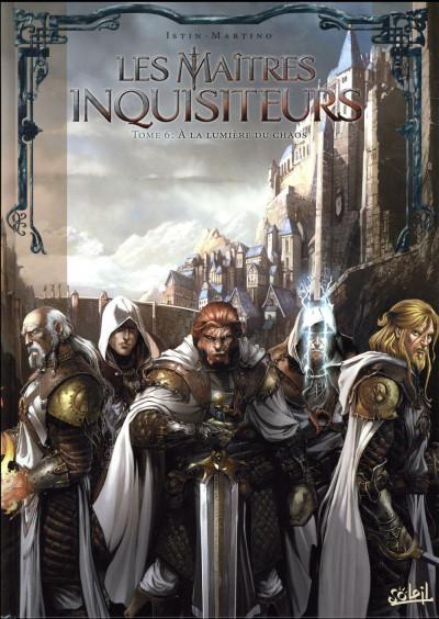 Couverture Les maîtres inquisiteurs tome 6