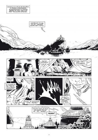 Page 1 Sangre tome 1 - édition noir & blanc