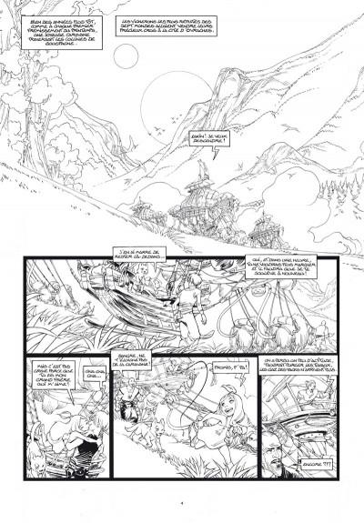 Page 2 Sangre tome 1 - édition noir & blanc