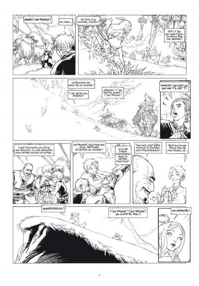 Page 3 Sangre tome 1 - édition noir & blanc