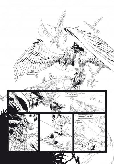 Page 4 Sangre tome 1 - édition noir & blanc