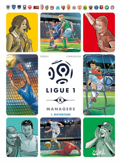 Couverture Ligue 1 managers tome 1