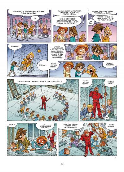 Page 3 Le collège invisible tome 14