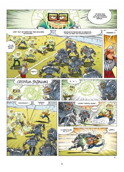 Page 4 Le collège invisible tome 14