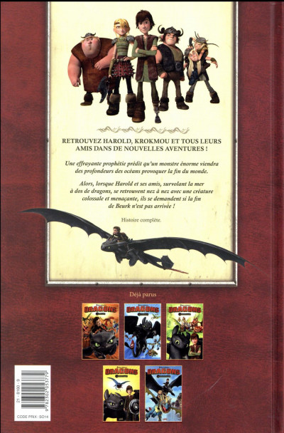 Dos Dragons tome 5 - La légende de Ragnarok
