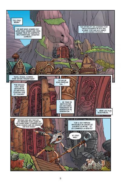 Page 1 Dragons tome 5 - La légende de Ragnarok