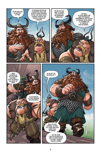 Page 4 Dragons tome 5 - La légende de Ragnarok