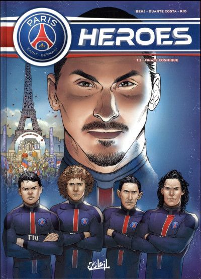 Couverture PSG heroes tome 3