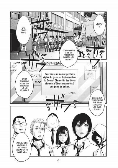 Page 5 Prison school tome 10
