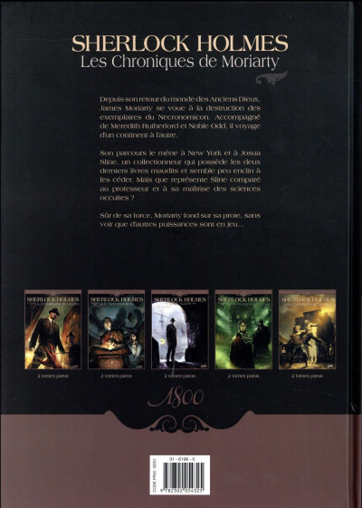 Dos Sherlock Holmes - Les chroniques de Moriarty tome 2