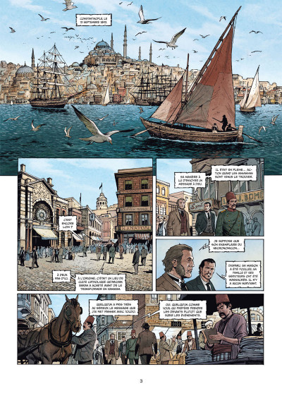 Page 1 Sherlock Holmes - Les chroniques de Moriarty tome 2