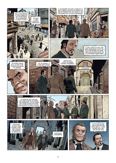 Page 2 Sherlock Holmes - Les chroniques de Moriarty tome 2