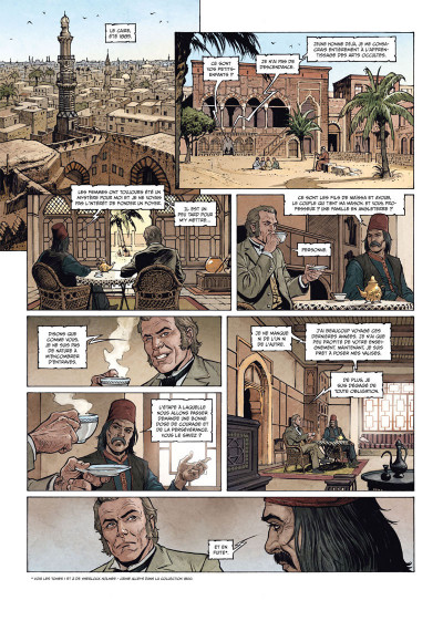 Page 4 Sherlock Holmes - Les chroniques de Moriarty tome 2