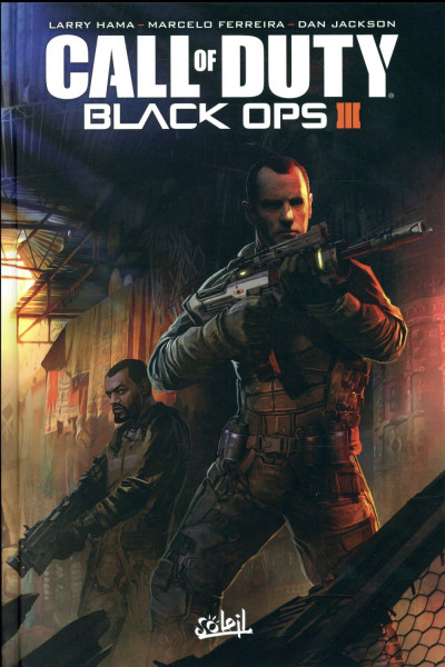 Couverture Call of Duty - Black OPS III