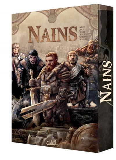 Couverture Nains - coffret tomes 1 à 5