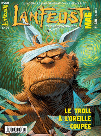 Couverture Lanfeust mag tome 220