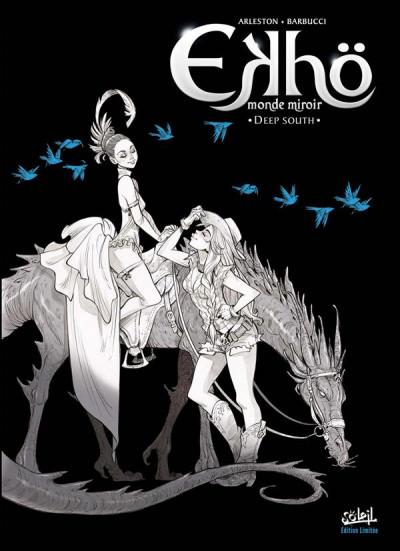 Couverture Ekhö - monde miroir tome 6 - édition noir et blanc