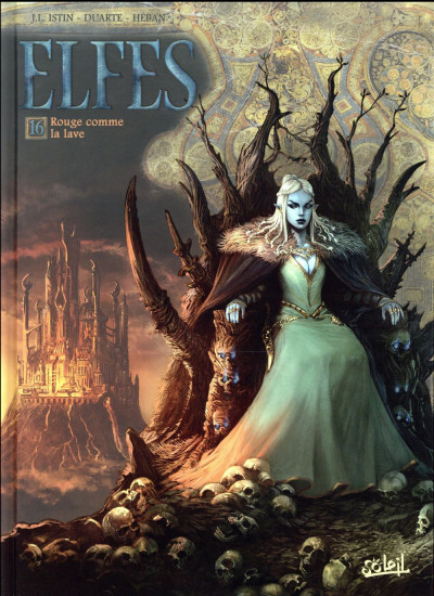 Couverture Elfes tome 16