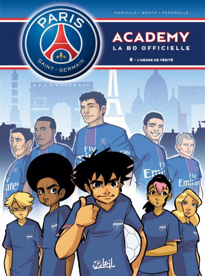 Couverture PSG Academy tome 8