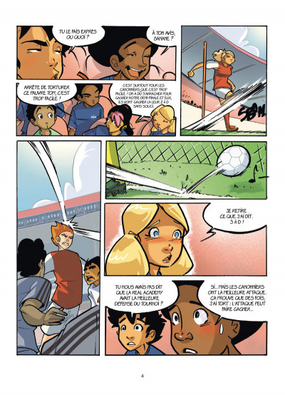 Page 2 PSG Academy tome 8