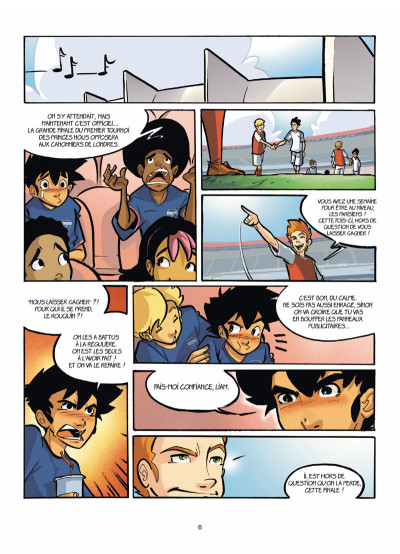 Page 4 PSG Academy tome 8