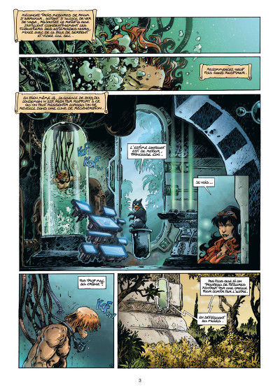 Page 1 Lanfeust odyssey tome 8