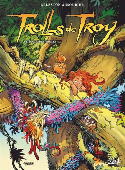 Couverture Trolls de Troy tome 22