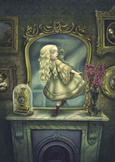 Page 3 Alice de l'autre côté du miroir