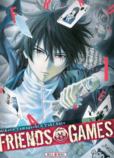 Couverture Friends games tome 1