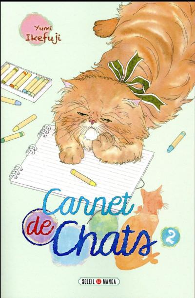 Couverture Carnet de chats tome 2
