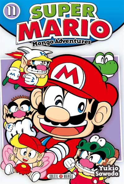 Couverture Super Mario - manga adventures tome 11